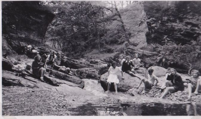Bathing in the Gorge