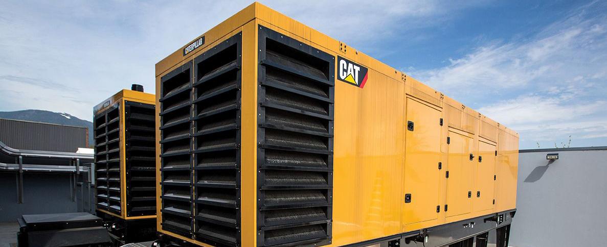 генераторы в контейнере