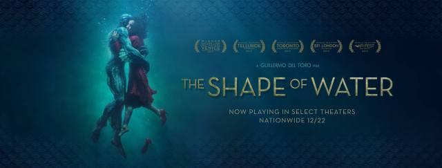 Resultado de imagen de shape of water movie poster