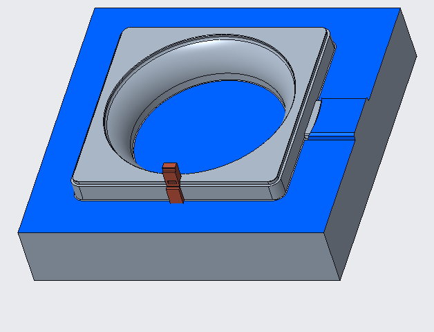 lifter for forming undercut