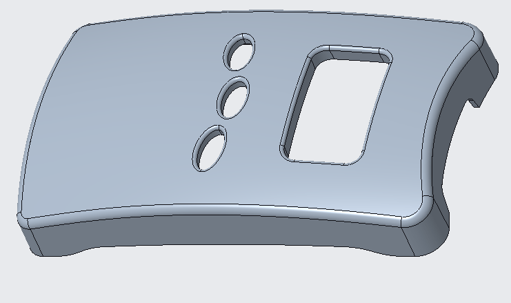 Molded part