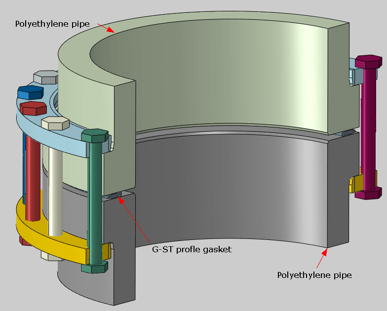 flange joint assembly nomenclature