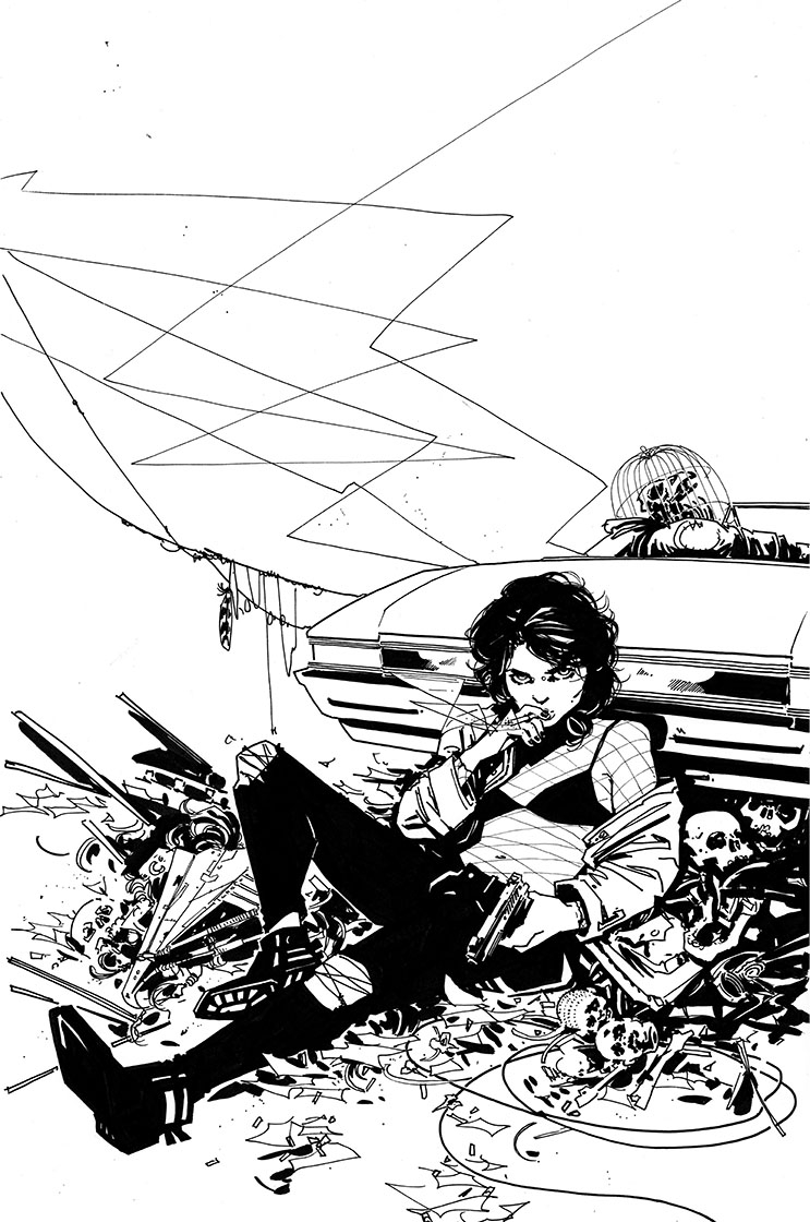 Coffin Bound #1 Cover, in Ed M.'s The Vault Comic Art