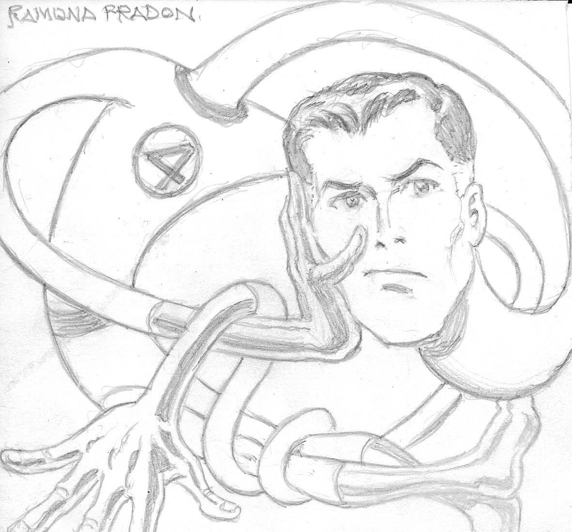 Mr Fantastic Of Fantastic Four By Ramona Fradon