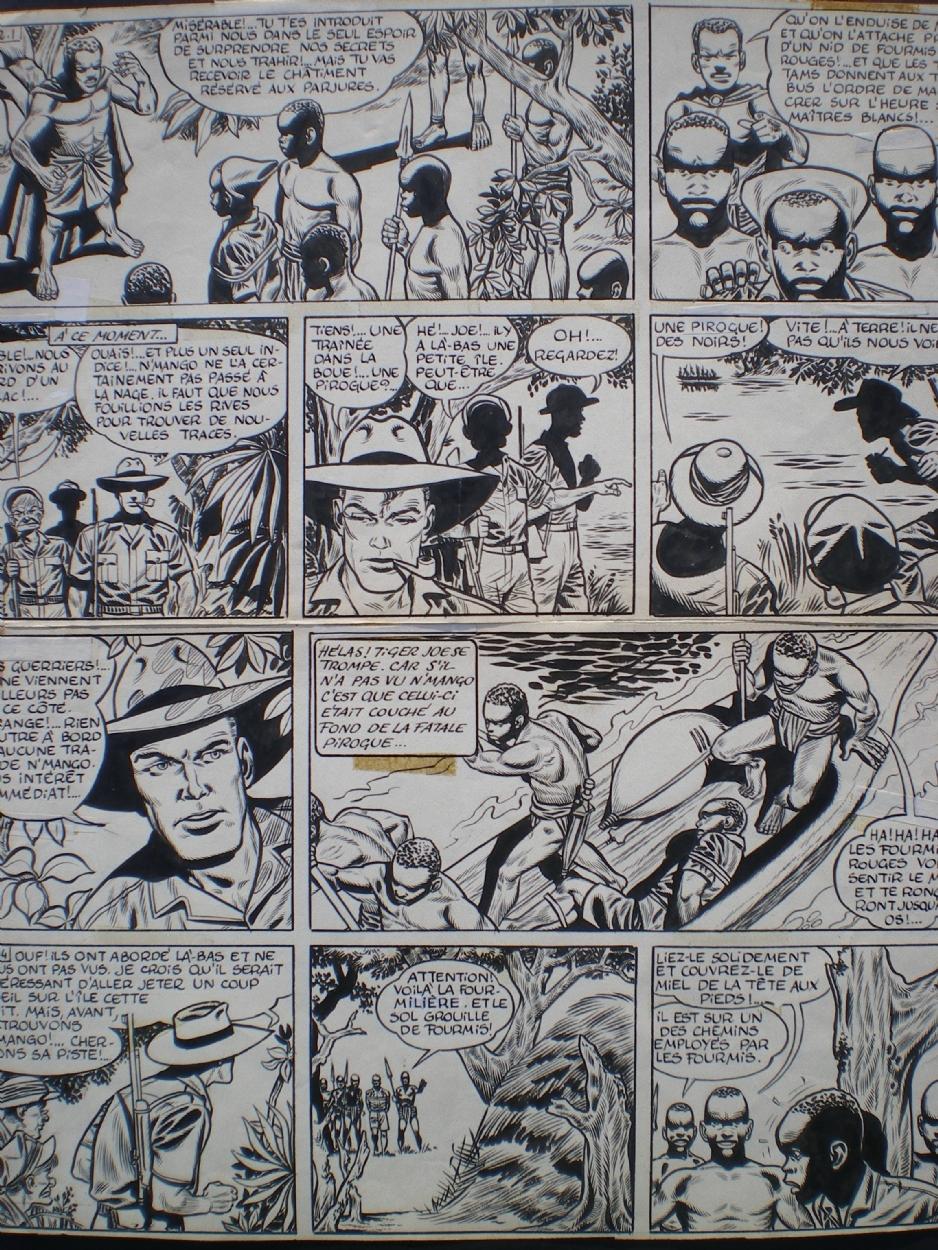 Au Vu Ou Aux Vus : Tiger, Laurent, Noël's, Hubinon,, Victor, Comic, Gallery