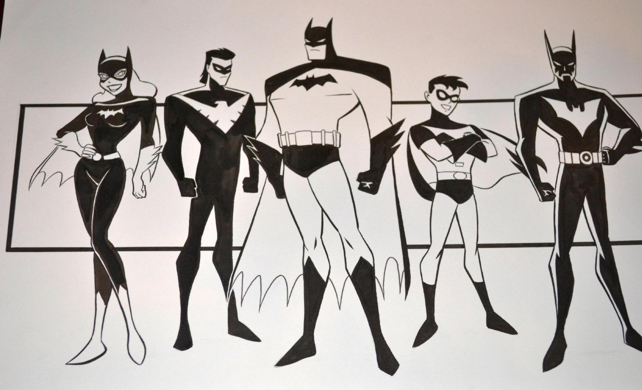 Brandon Mckinney Warner Bros Batman Family In Roland