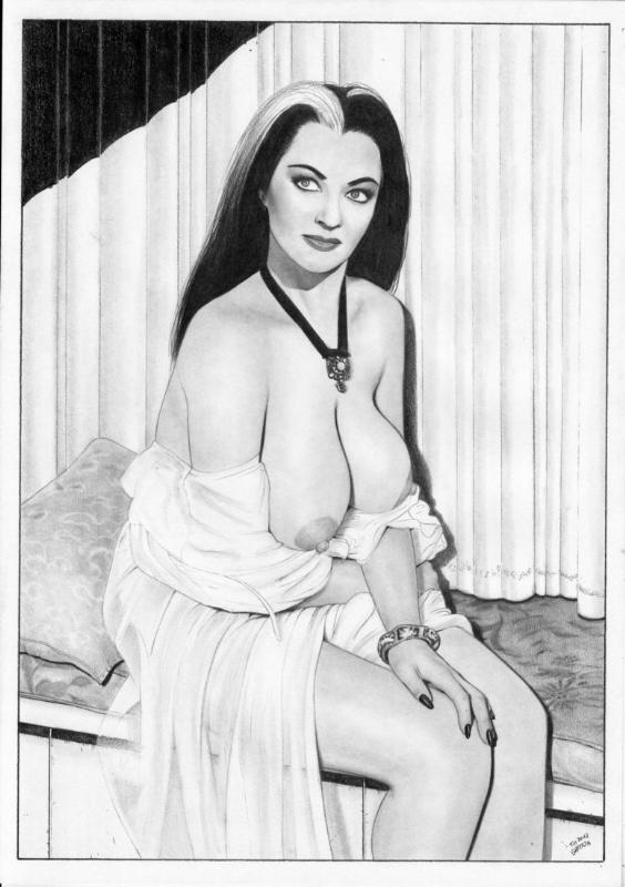 Lily Munster Naked : munster, naked, Munster,, Grayson's, Movies, Comic, Gallery