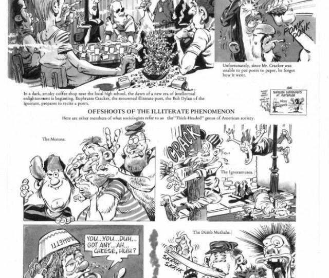 Cracked 276 4pg Story P4 Comic Art