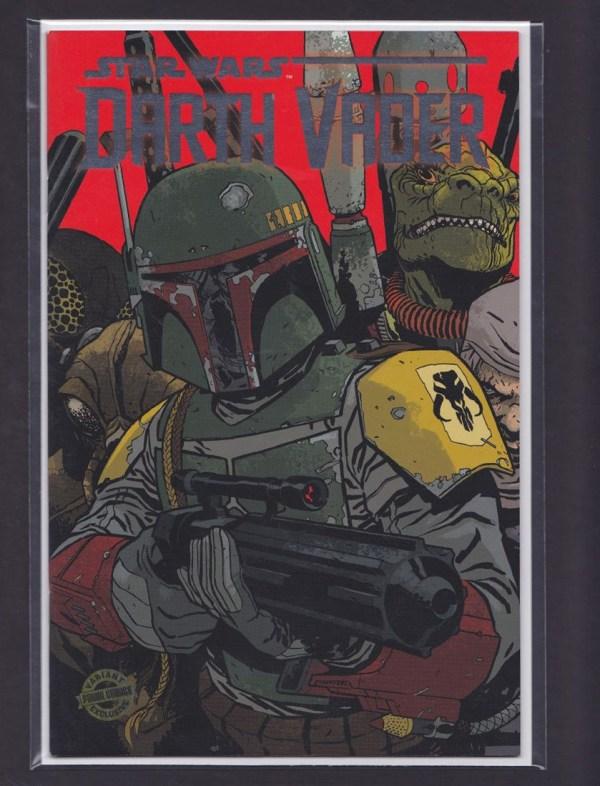 Star Wars #1 & Darth Vader Boba Fett European Cover