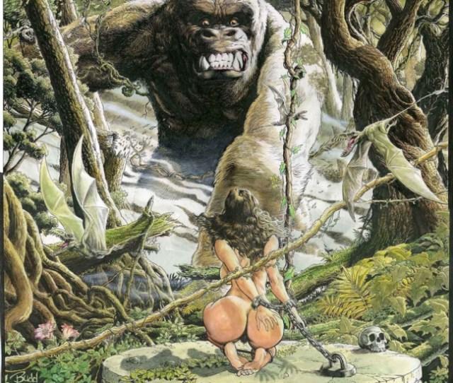 Budds Beauties Beasts 2 Nude Cavewoman By Budd Root Comic Art