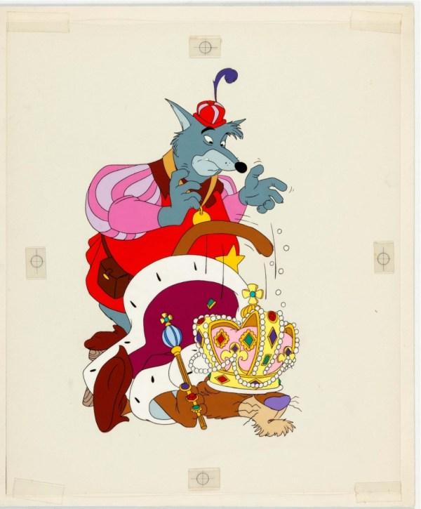 Robin Hood and Sheriff of Nottingham Disney