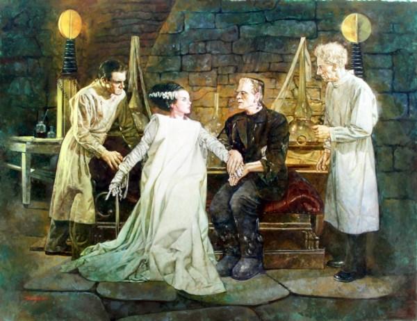 Sanjulian - Bride Of Frankenstein In John Ulakovic'