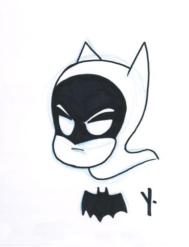 Batman by Yale Stewart, in Brandon Padgett's Jonathan's