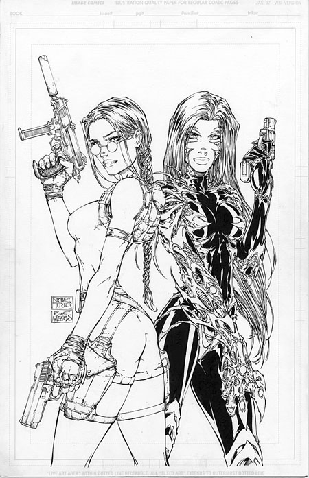 Michael Turner Comic Artist And