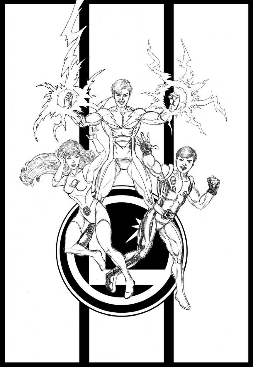 Legion of Superheroes Homage To West Coast Avengers
