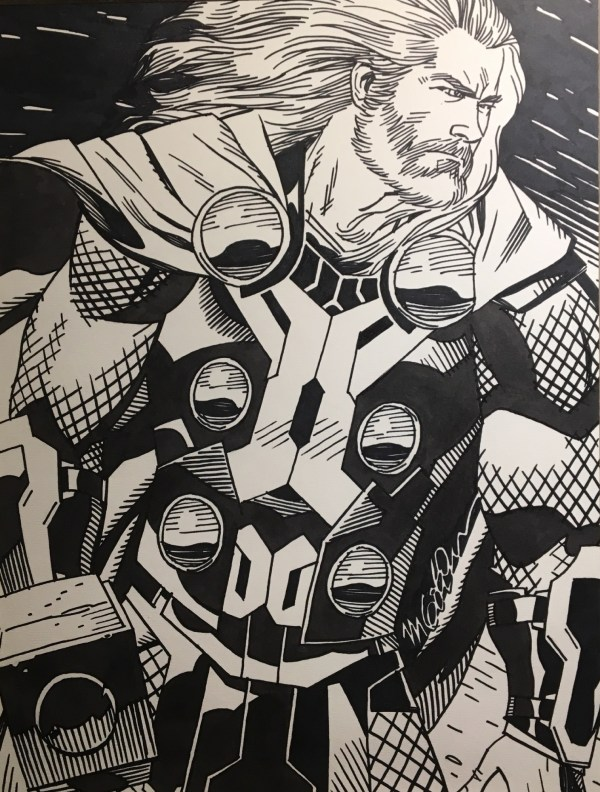 Thor In Jason ' Meager Collection Comic Art Room