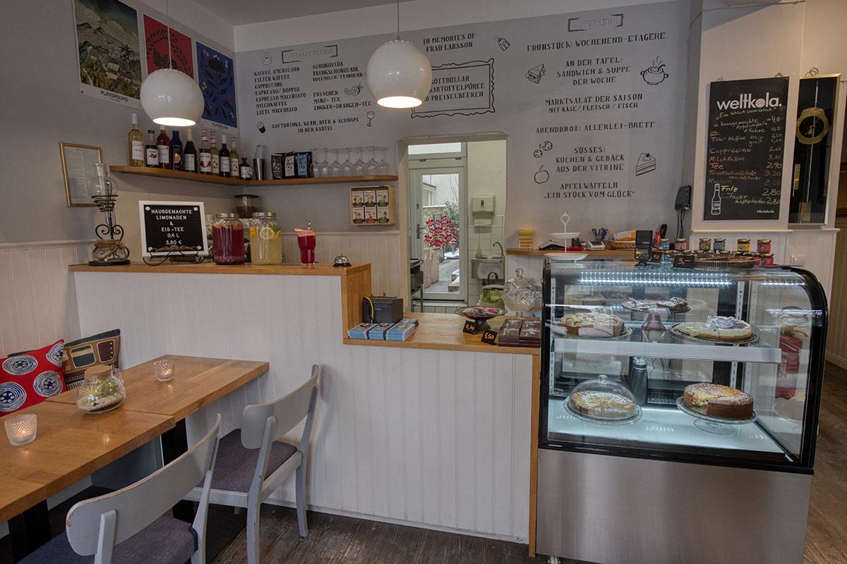 Winterhude Cafe Missingsch Tresen