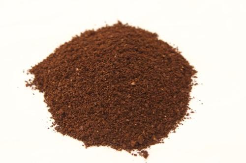 ハリオ セラミックスリムミルで挽いたコーヒー