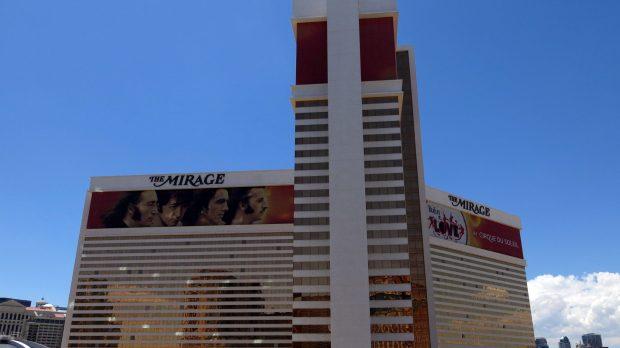 Mirage hôtel casino, Las Vegas, Etats-Unis
