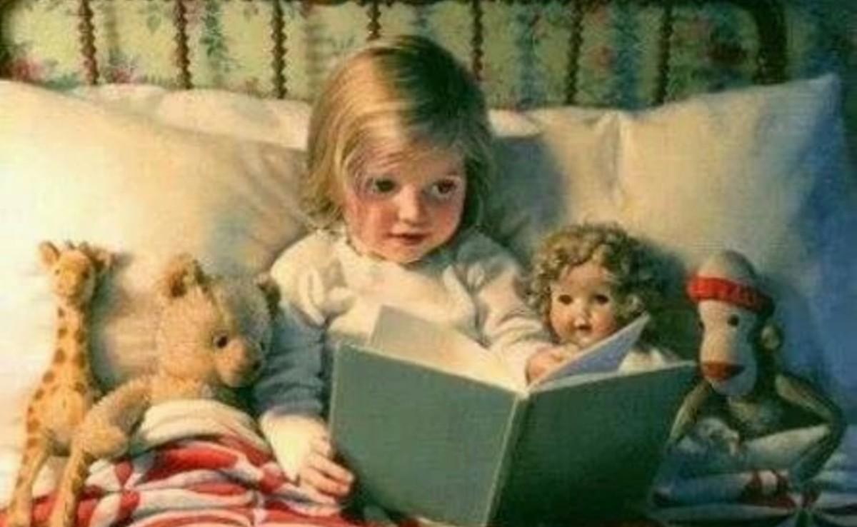 Copiii devin cititori în brațele părinților