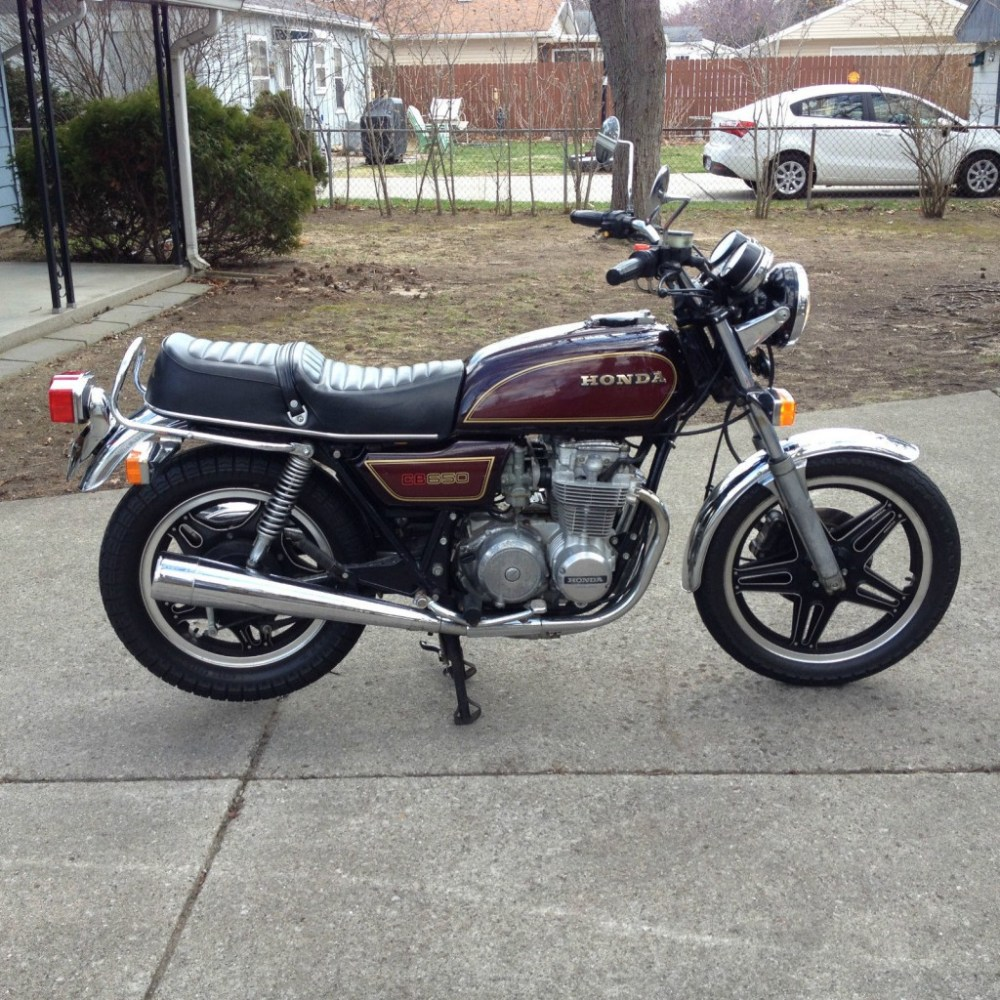 medium resolution of cx 500 turbo 1980 honda 650 motorcycle 1979 honda cb650 very clean cafe racer for sale