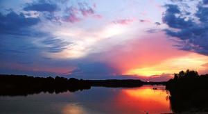 Bild See Sonnenuntergang