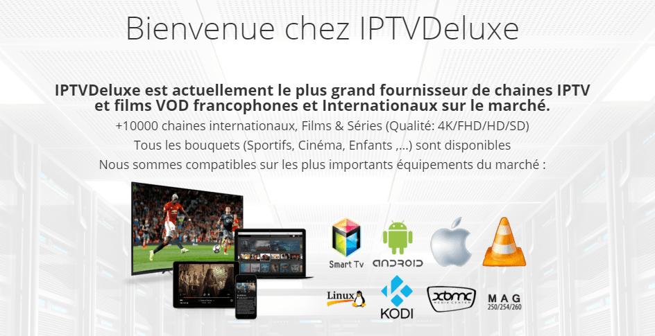 Abonnement IPTV - IPTV Deluxe
