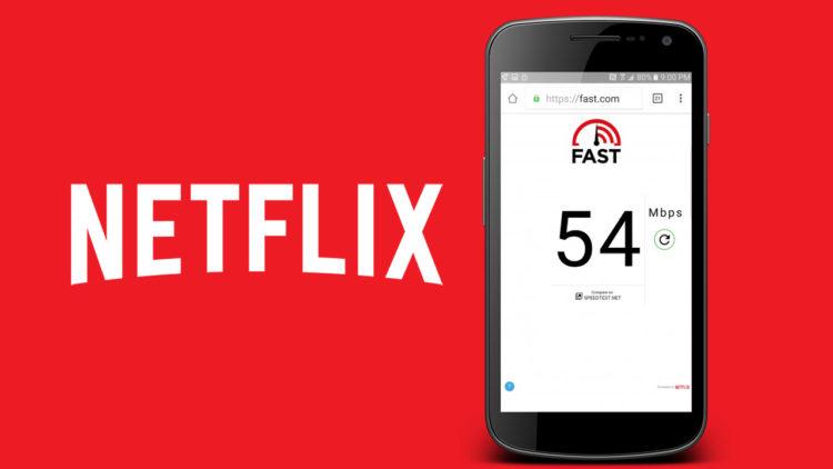 FAST Speed Test Netflix