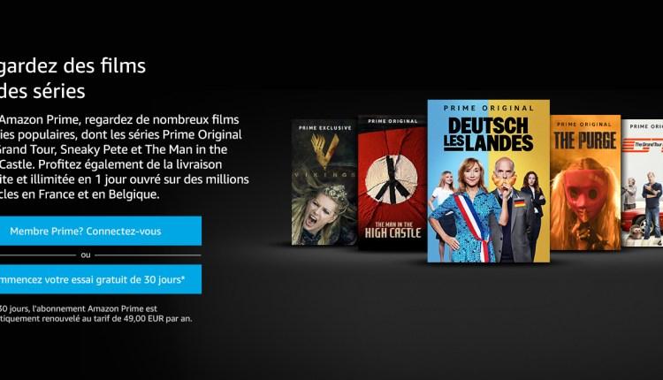 Télécharger Application Amazon Prime Video