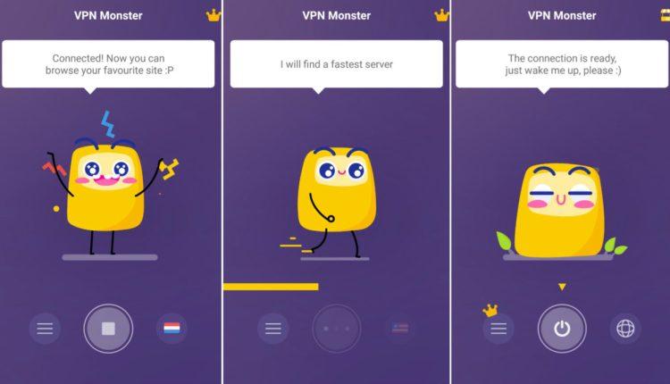 Télécharger Application VPN Monster