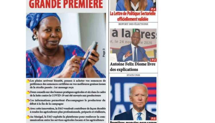 Revue de Presse du Samedi 03 Avril 2021-03