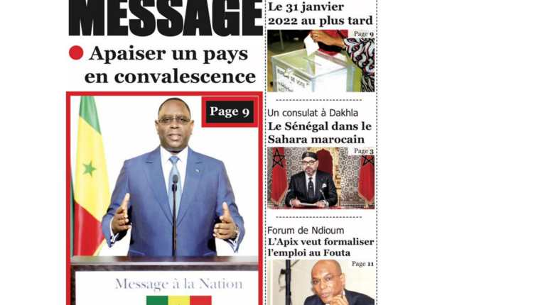Revue de Presse du Samedi 03 Avril 2021-09