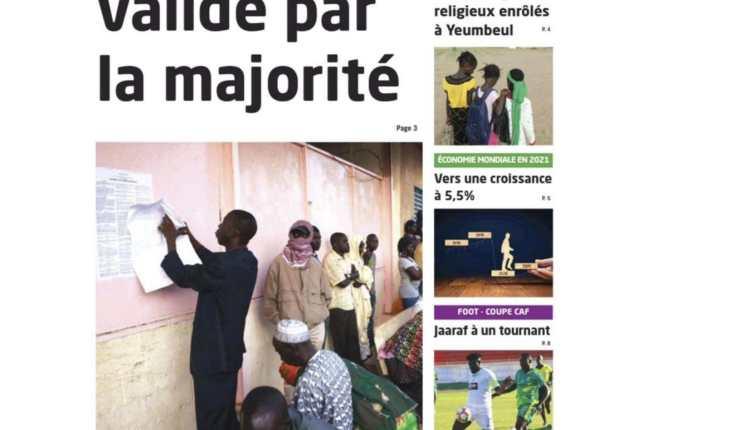 Revue de Presse du Samedi 03 Avril 2021-13
