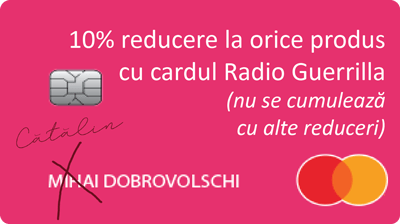 Cafea Dobro Avanpost Radio Guerilla