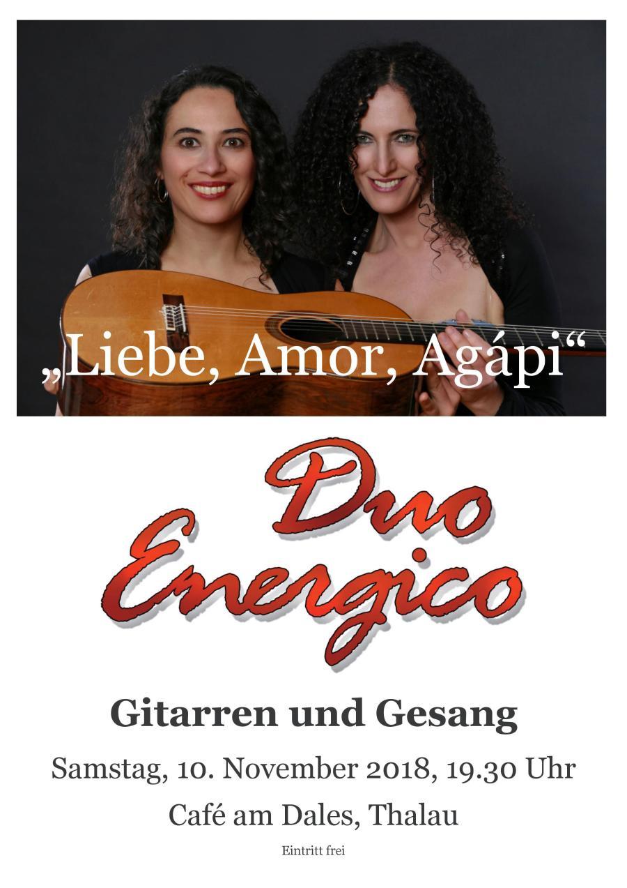 DUO ENERGICO  – Liebe, Amor, Agápi
