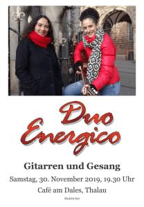 Duo Energico - Plakat
