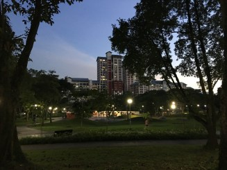 View of the park