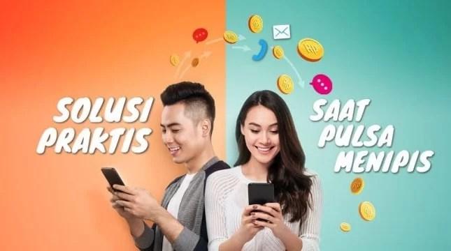 Transfer Pulsa Indosat Pascabayar, Im3, Telkomsel