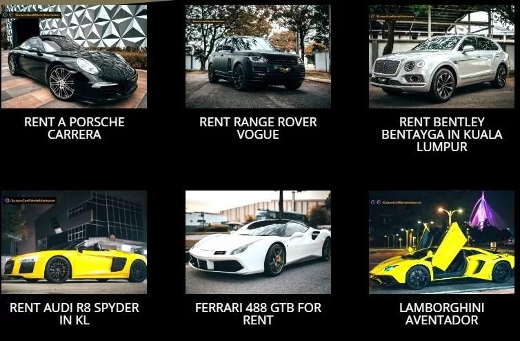 Car rental Malaysia, Car Rental Kuala Lumpur