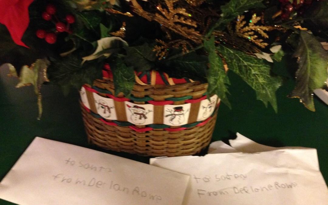 Christmas Letters to Satan