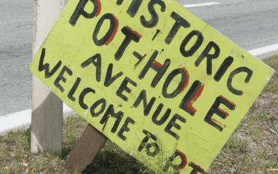 The Maroon Beast: Why The Self-Driving Car Won't Work in Rhode Island
