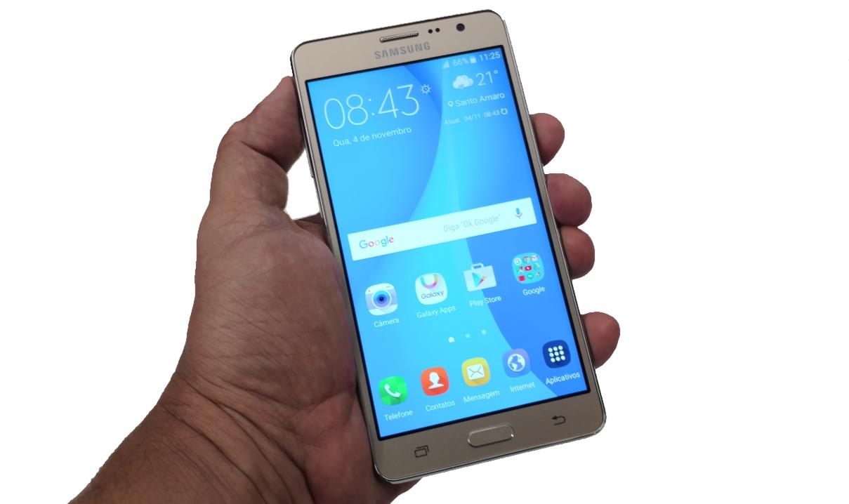 Galaxy on7 tem tela grande e custa menos de mil reais
