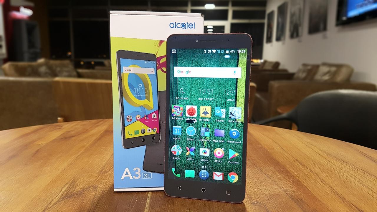 Alcatel A3 XL é smartphone para quem curte tela grande