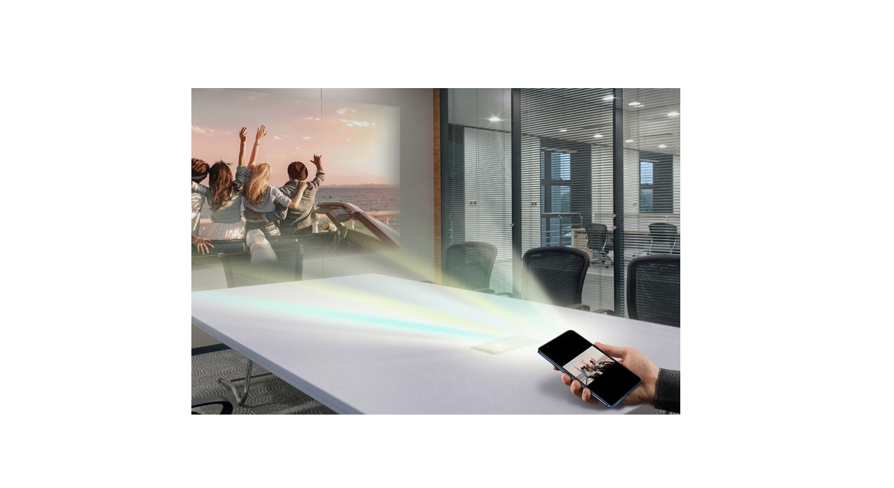 Quantum V é um smartphone com projetor a laser integrado