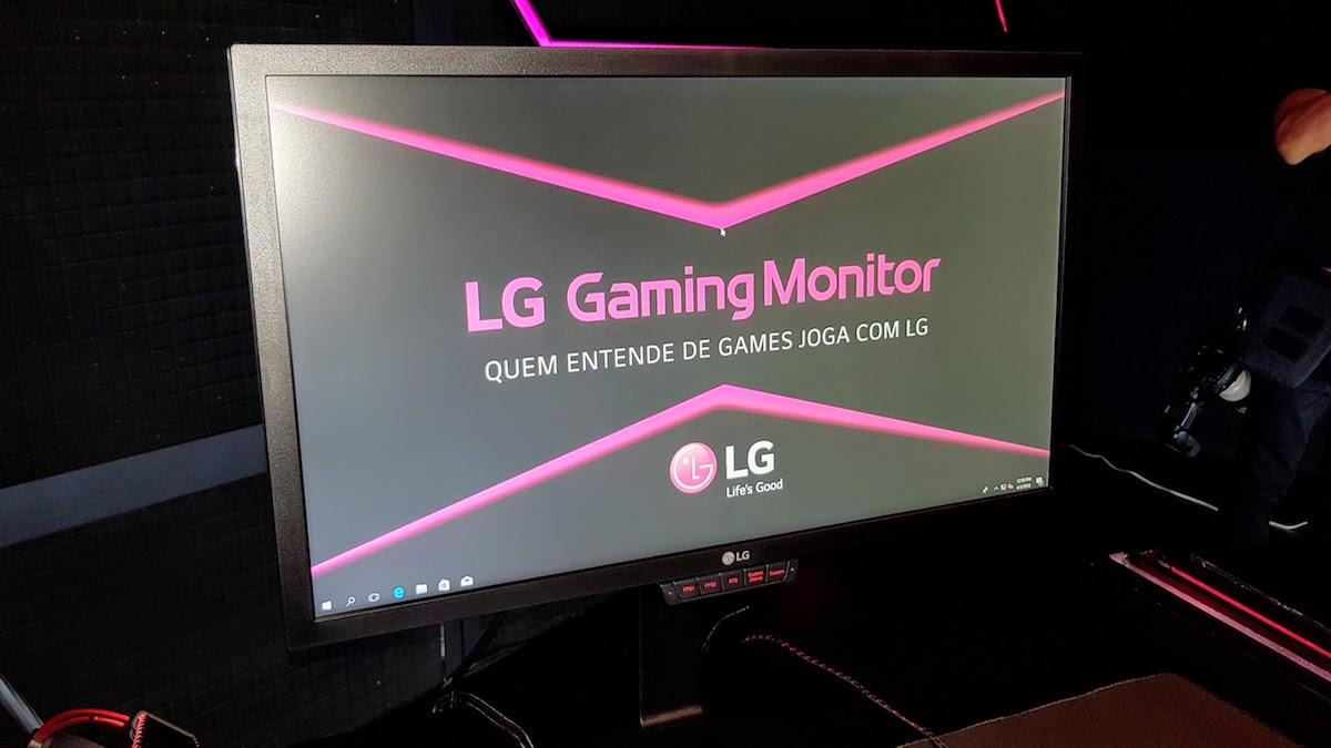 LG amplia linha de monitores gamers no Brasil