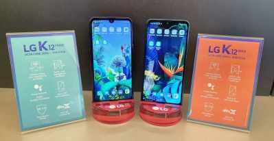 Conheça o LG K12 MAX e LG K12 Prime