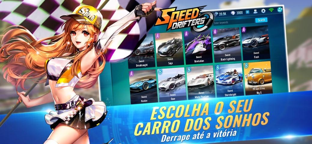 Speed Drifters, jogo de corrida, dá início a pré-registro