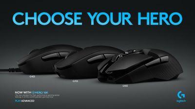 Novos mouses Logitech Hero chegam ao Brasil