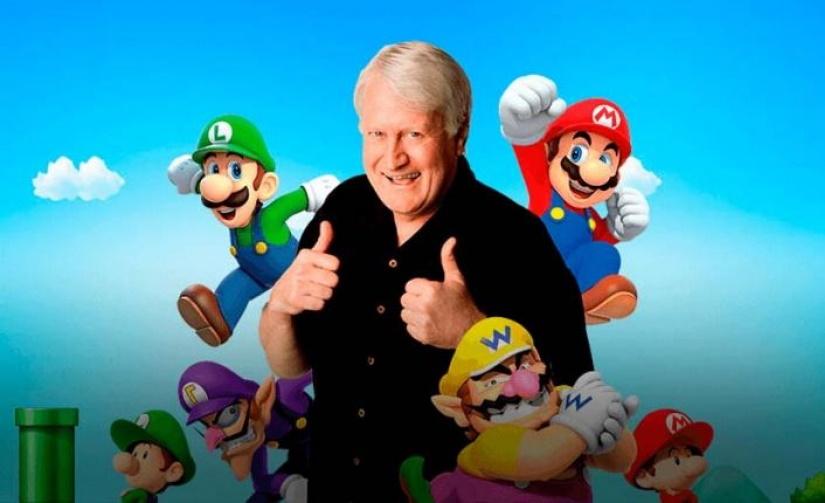 A trajetória de Charles Martinet, a voz de Super Mario