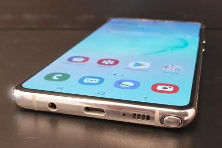 Galaxy Note 10 Lite: corpo